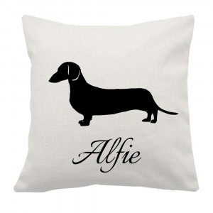 Personalised Dachshund Cushion