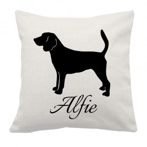 Personalised Beagle Cushion