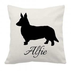 Personalised Corgi Cushion