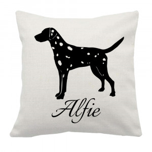 Personalised Dalmatian Cushion