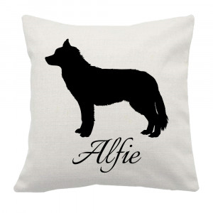 Personalised Husky Cushion