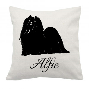 Personalised Maltese Cushion