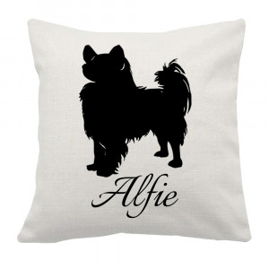 Personalised Papillon Cushion