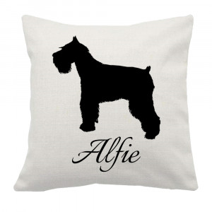 Personalised Schnauzer Cushion