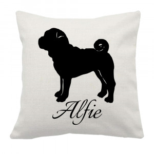 Personalised Shar Pei Cushion