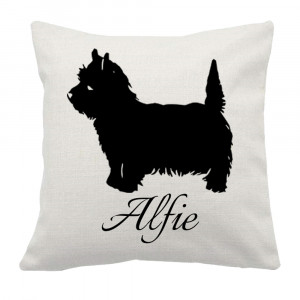 Personalised Westie Cushion