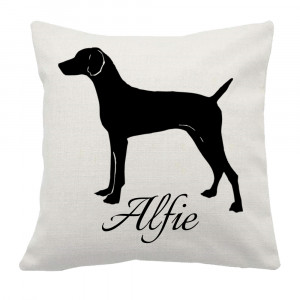 Personalised Vizsla Cushion