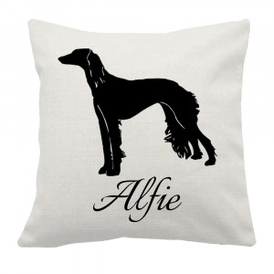 Personalised Saluki Cushion