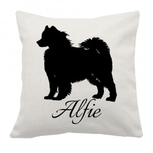 Personalised Samoyed Cushion