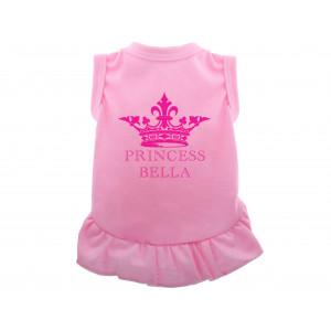 Personalised Pink Royal Dog...