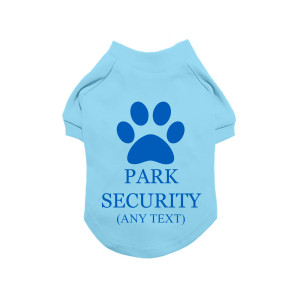 Blue Personalised Dog...