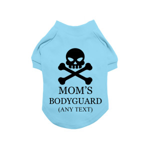 Blue Personalised Skull &...