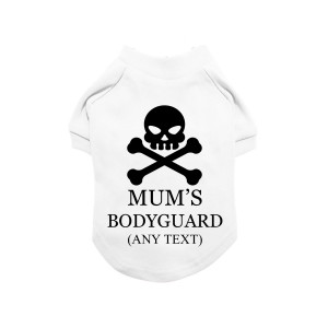 White Personalised Skull &...