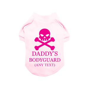 Pink Personalised Skull &...