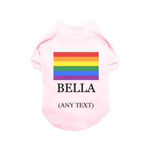 Pink Personalised LGBTQ...