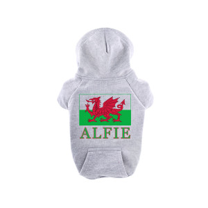 Grey Personalised Welsh...