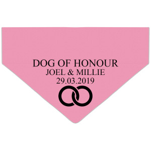 Personalised Dog Of Honour...