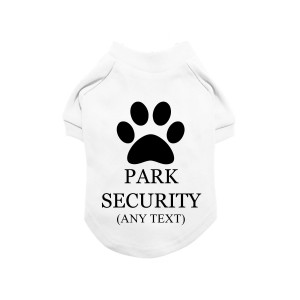 White Personalised Dog...