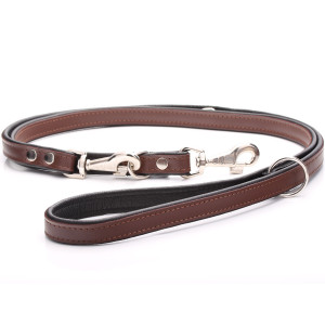Adjustable Brown Leather...
