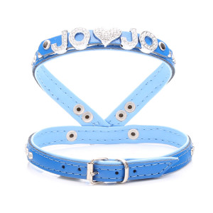Small Baby Blue Diamante...