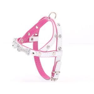 Crystalised White & Pink...