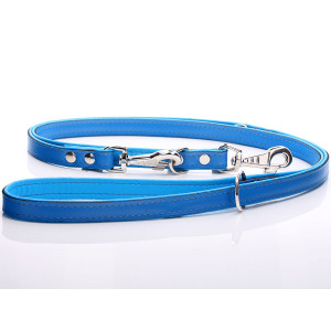 Adjustable All Blue Leather...