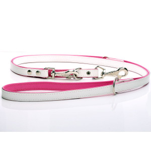 Adjustable White & Pink...