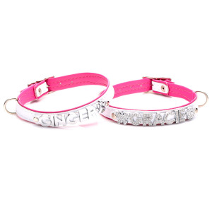 Handmade White & Pink...