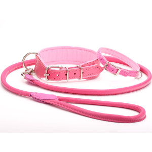 Handmade Baby Pink Leather...