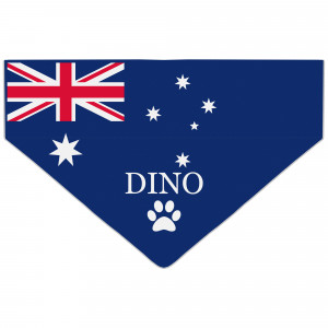 Australian Flag Dog Bandana