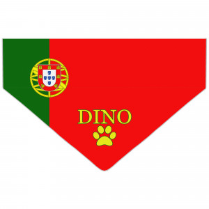 Portuguese Flag Dog Bandana