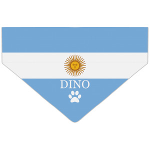 Personalised Argentina Flag...