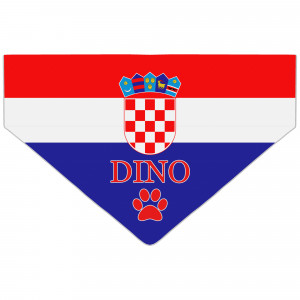 Personalised Croatia Flag...