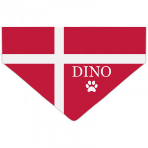 Personalised Denmark Flag...