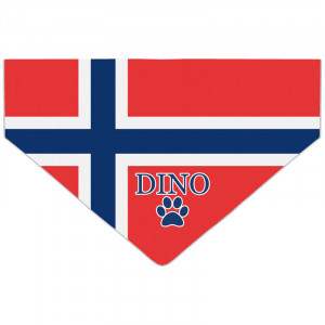 Personalised Norway Flag...