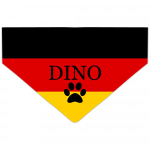 Personalised German Flag...