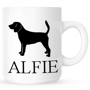 Personalised Beagle Coffe Mug