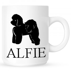 Personalised Bichon Frise Coffe Mug
