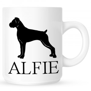 Personalised Boxer Coffe Mug