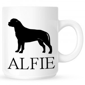 Personalised Bullmastiff Coffe Mug