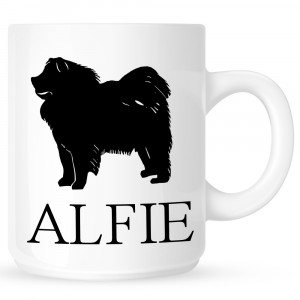 Personalised Chow Chow Coffe Mug