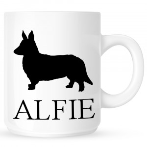 Personalised Corgi Coffe Mug