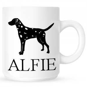 Personalised Dalmatian Coffe Mug