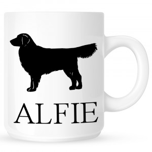 Personalised Golden Retriever Coffe Mug