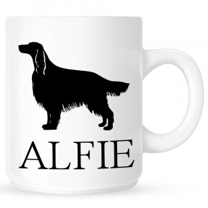 Personalised Irish Setter Coffe Mug