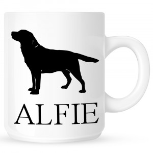 Personalised Labrador Retriever Coffe Mug