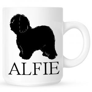 Personalised Old English Sheepdog Coffe Mug