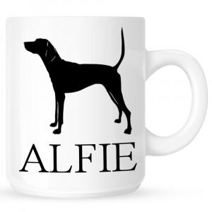 Personalised pointer Coffe Mug