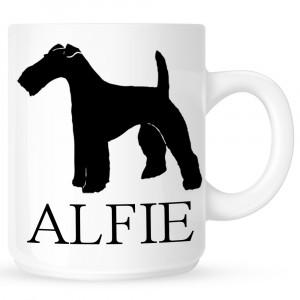 Personalised Smooth Fox Terrier Coffe Mug