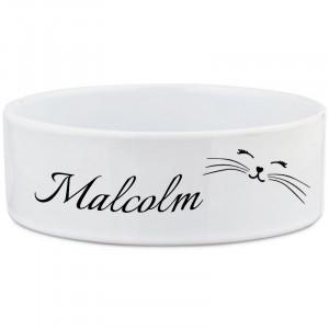 Personalised Smiling Cat Bowl